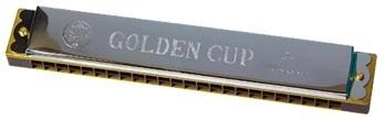 ARMÓNICA GOLDEN CUP 48 VOCES TAPAS CROMADAS JH024