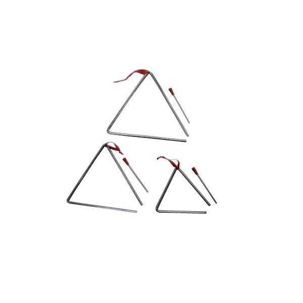 """Triángulo """"JINBAO"""" de 25 cms."""