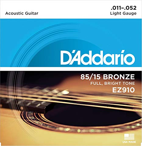 JUEGO DE CUERDAS PARA GUITARRA ACÚSTICA DŽADDARIO EZ910