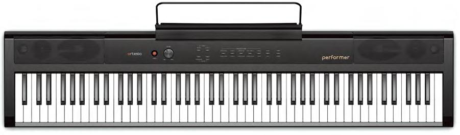 PIANO DE ESCENARIO ARTESIA PE88W PERFORMER NEGRO