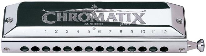 ARMÓNICA SUZUKI CHROMATIC SCX48